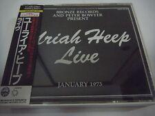 URIAH HEEP-Live JAPAN 1st.Press w/OBI Scorpions Judas Priest Black Sabbath AC/DC