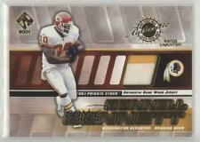 2001 Private Stock Game-Worn Gear /300 Donnell Bennett #138 Patch