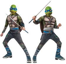 Childs Costume Ufficiale Leonardo Teenage Mutant Ninja Turtles TMNT Costume