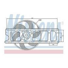 Fits Renault Clio MK2 1.5 dCi Genuine Nissens Engine Cooling Radiator Fan