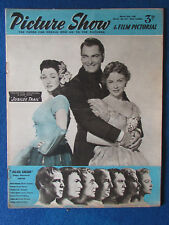 Picture Show Magazine - 27/3/1954 - Vera Ralston-John Russell-Joan Leslie Cover