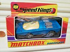 Lesney Matchbox 1972 King Size Speed Kings K36A Bandolero Yello Window C9MintBxd