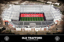 Manchester United Football Club OLD TRAFFORD THEATRE OF DREAMS Stadium Poster
