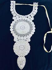 Stunning Neckline Gala Neck Collar Applique for wedding Dressmaking Sewing