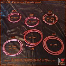Enema tubes – Ryles duodenal - trial pack - set of 5 – 10FG-20FG