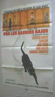 Filmplakat,PLAKAT, POR LOS BARRIOS BAJOS,LAURENCE HARVEY,CAPUCINE,J FONDA,#187