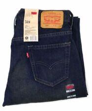 $134 New Levi'S 569 Men'S Size 30w 30l Blue Jeans Loose Straight Fit Denim Pants