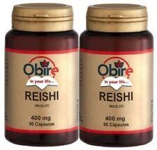 BOB046- HONGO REISHI  OBIRE 400mg (ganoderma lucidum) 2x90c. ENVIO24h