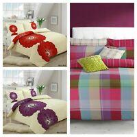Printed Duvet Set Quilt Cover Single Double King Super King Size Bedding Bed Set