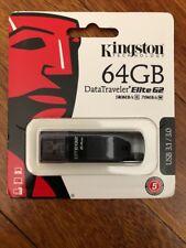 Kingston DataTraveler Elite G2 64GB USB 3.1 USB 3.0 DTEG2 Flash Drive DTEG2/64GB