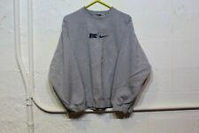 Vintage Nike Team Crew Neck Sweatshirt Size XL Embroidered Center Swoosh Logo