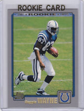 Reggie Wayne 2001 Topps ROOKIE CARD Indianapolis Colts Football NFL RC