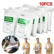 10pcs  Non Woven  Triangular Bandge Disposable Arm Sling First Aid Bandge