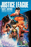 Justice League by Scott Snyder Book One Deluxe Edition - Hardcover - VERY GOOD