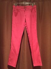 TRIPP NYC Hot Topic Size 9 Fluorescent Pink Skinny Jeans