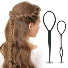 Super Practical 4 Pcs/Set Topsy Tail Hair Braid Ponytail Maker Styling Tool 2r