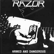 "Razor - Armed And Dangerous 12"" LP Sealed New Copy - Thrash Speed Metal"