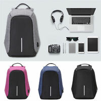 Fashion Laptop Travel Backpack With USB Charging Port Business Anti-theft Bag
