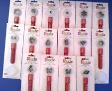 Huge Lot Sizzix Paddle Punches 16 Shapes NEW in Pkg