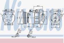 Kompressor Klimaanlage - Nissens 89278