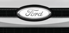 Ford Overlay Logo White/Chrome Overlay Decals 3pc kit.  Read the Description!