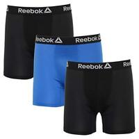REEBOK MEN UNDERWEAR 3 PACK BOXER BRIEF STRETCH PERFORMANCE TRAINING - 183 GREY