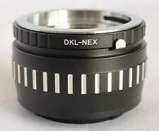Voigtlander Retina DKL Lens to Sony NEX E Mount Adapter NEX-5R Nex-7 DKL-NEX