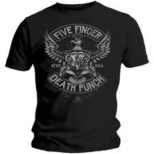 Five Finger Death Punch T-Shirt - Howe Eagle Crest
