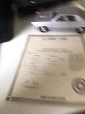Danbury Mint 1965 Pontiac GTO 1:24 Diecast Car
