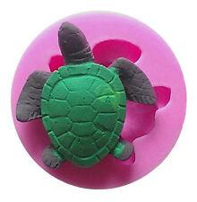 Turtle Silicone Mold, Candy, Fondant, Cake Decorating