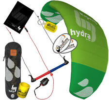 HQ HQ4 Hydra 350 3.5M Water Trainer Kite Kiteboarding Foil 3-Line Control Bar