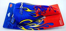Kidzamo Kid's Bicycle Saddle Flames Blue/Red/Yellow/Orange