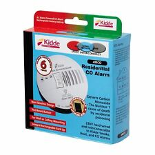 Kidde Mains Powered Residential Carbon Monoxide Alarm Detector Hard Wired