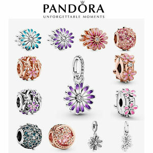 2021 New Genuine Pandora Daisy Charm S925 ALE Sterling Silver & With Gift Box