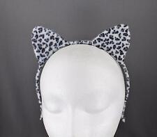 Kitten Cat Cats Ears Hair Band Sport Headband Makeup Tool Spa Accessories White