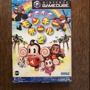 Nintendo Gamecube Super Monkey Ball 2 GC Japan Import