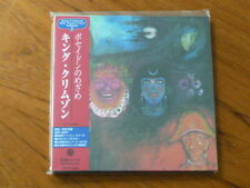 King Crimson:In Wake of Poseidon Japan Gold CD Mini-LP 30th PCCY-01422 Mint (Q