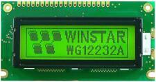 LCD Graphic Display Module, 122x32, Blue / White - WINSTAR