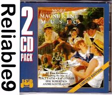 Ray Conniff +Percy Faith+Andre Kostelanetz - More magnificent music 2CD J&B AUS