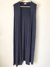LuLaRoe Joy Sweater Spruce Blue Medium Women Vest Duster