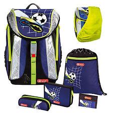 TOP SOCCER - Fußball Football FLEXLINE Schulranzen-Set 6 tlg. Step by Step Hama