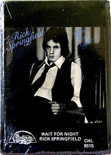 RICK SPRINGFIELD Wait For Night  NEW SEALED 8 TRACK CARTRIDGE TAPE