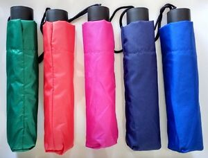 BGG Compact Folding Easy Umbrella Windproof Sun Rain Anti UV various Colors Nwt