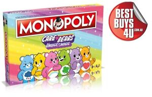 MONOPOLY CARE BEARS BOARD GAME