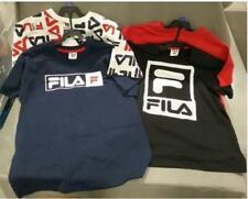 Fila 2-pack Kids Sports Logo Blue /White Cotton T-Shirt Pick Style / Sz TINI {&}