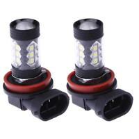 2pcs LED Lights H11 80W LED Car Headlight Fog Light 6500K White Bright fog light