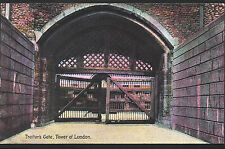 London Postcard - Traitor's Gate, Tower of London  A9079