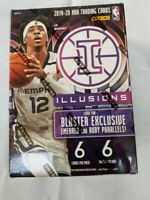 2019-20 Panini Illusions Basketball NBA Blaster box BRAND NEW SEALED