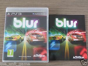 PLAYSTATION 3 PS3   BLUR  COMPLET EN FRANCAIS