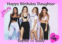 personalised birthday card little Mix any name/age/relation.